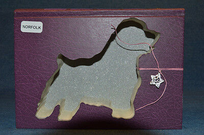 Norfolk Terrier Upcycled Book - 003