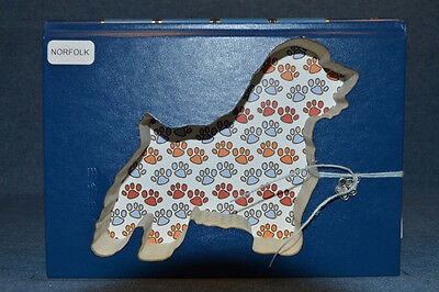 Norfolk Terrier Upcycled Book - 001
