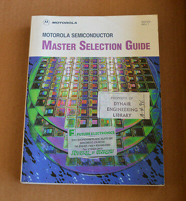 Motorola Semiconductor Master Selection Guide Data Book