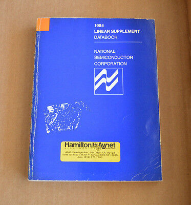 National Semiconductor 1984 Linear Supplement Data Book