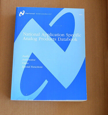 National Semiconductor Data Book - Application Specific Analog Products Databook