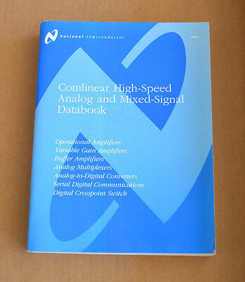 National Semiconductor Data Book - Comlinear High Speed Analog & Mixed Signal