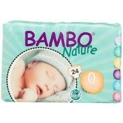 Bambo Nature Premature Baby Nappies 2 pack