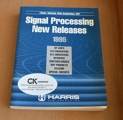 Harris Semiconductor Data Book - Signal Processing New Releases 1995 Databook