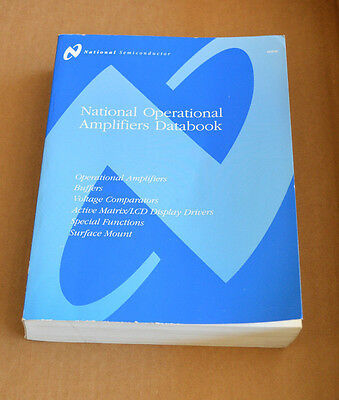 National Semiconductor Data Book - Operational Amplifiers Databook 1995