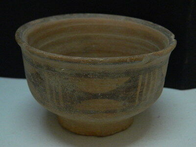 "Indus Valley Teracotta Painted Pot C.2500 Bc  """"t15245"""""