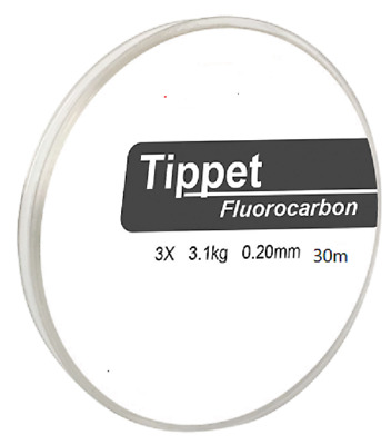 FLY FISHING FLUOROCARBON 1 X 50m TIPPET SPOOL 2kg