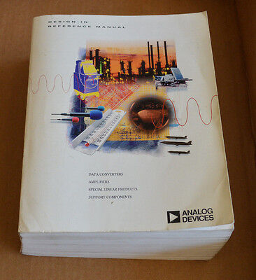 Analog Devices Data Book - Design-In Reference Manual 1994 Databook