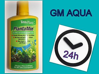 Tetra Plantamin 500ml 1st class postage -  Aquatic Plant Food Fertiliser
