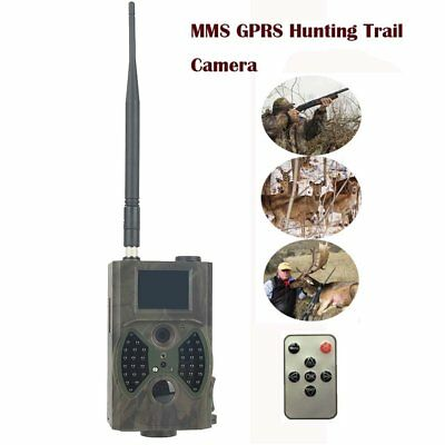 12MP Hunting Camera MMS SMTP SMS Photo Trap Night Vision Infrared Trail HC300M