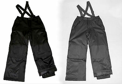 Athletic Works /George Girl Black Gray Snowboarding SKI Snowsuit Pant M L XL NWT
