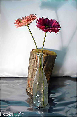 Emma Dafnäs, IKEA Marked Crystal Clear Glass Vase, Daisy Star, Made in Russia