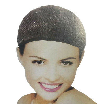 3Pcs New Stretchable Elastic Hair Nets Snood Cool Mesh Cosplay Wig Hairpiece Cap