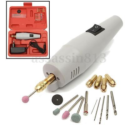 Pro AC 220V Mini Super Electric Drill / Electric Grinder Sets + Power Adapter