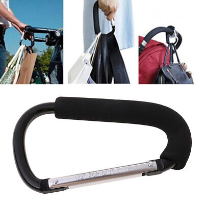 Baby Trendy Pushchair Stroller Clip Hook Buggy Pram Diaper Bag Hanger