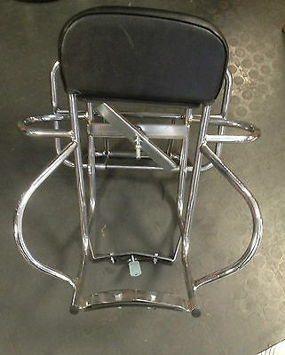 Rear back carry rack 3 way chrome for Lambretta series 3 by Cuppini
