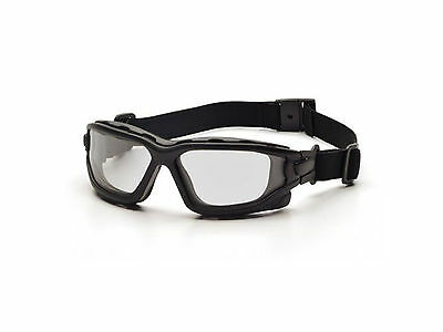 Asg Strike Systems Dual Protective Safety Glasses Clear Anti-Fog 18070