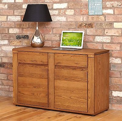 olten dark oak furniture hidden home office pc computer desk baumhaus hidden home office 2