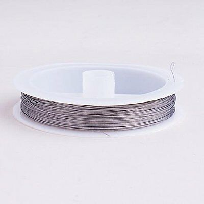 Tiger Tail Beading Wire Craft Wire - 90m/ 0.3mm/ Silver PK