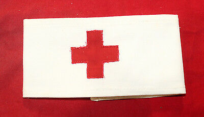 Red Cross, RCAMC / Chaplains Corps Military Armband (inv6863)