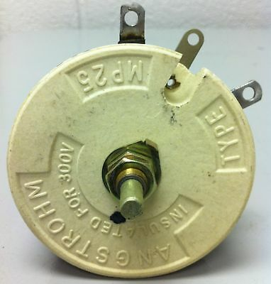 Angstrohm Rheostat 5 Ohm 100 Watt - Part# Mp25 - New