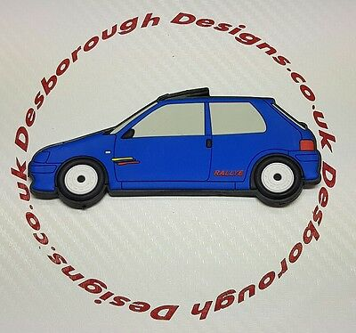 Peugeot 106 Rallye fridge magnets , Indigo Blue Phase 2