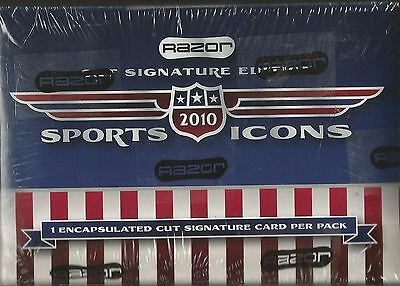 2010 Leaf (Razor) Sports Icons Box