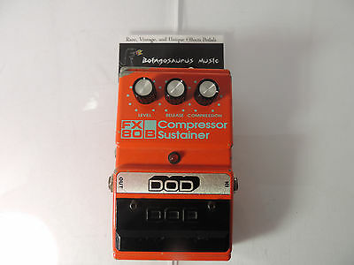 Dod Fx80-B Compressor Sustainer Fx80B Effects Pedal Free Usa Shipping