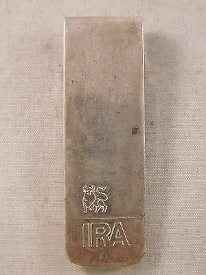 Pre-Owned .925 Sterling Silver Tiffany & Co. IRA Money Clip (WFM117)