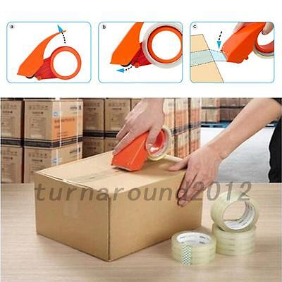 Portable Tape Gun Dispenser Packing Machine Shipping Grip Roll Sealing