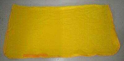 Horse Exercise or Quarter sheet FREE EMBROIDERY Choose size & Binding YELLOW