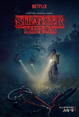 Stranger Things Poster (2016) Netflix 24x36 inches C