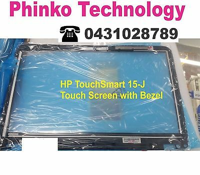 """HP ENVY TouchSmart 15-J 15.6"""" Touch Screen with digitizer Bezel Assembly"""