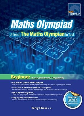 SAP Maths Olympiad Beginner Revised Edition | Year: 4, 5, 6