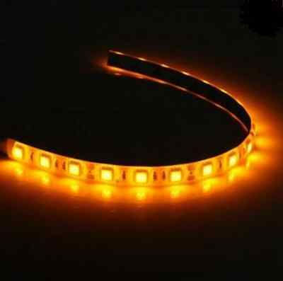 Yellow 30cm 18 LED Long Molex Connector Modding PC Case Leads Strip Light