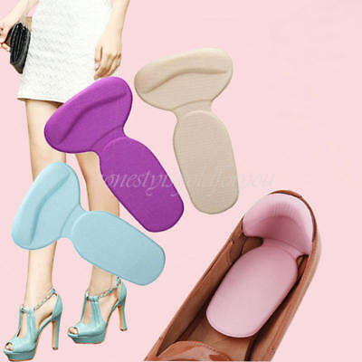 New 1 Pair Foot Care Protector High Heel Shoe Liner Grip Back Insole Cushion Pad