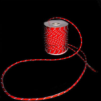 Reflectante Guyline Capa Tienda Cuerda Guy Cable Acampada Paracord 20/30/50M