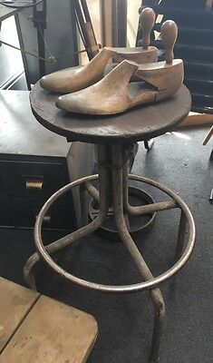 Vintage Industrial Tansad Machinists Engineers Factory Stool Chair