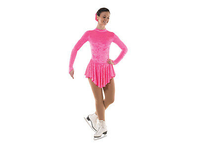 New Girls Velvet Ice Skating/baton Twirling/cheer Dress