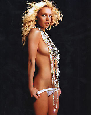 BRITNEY SPEARS UNSIGNED 8x10 PHOTO SEXY SINGER PH3