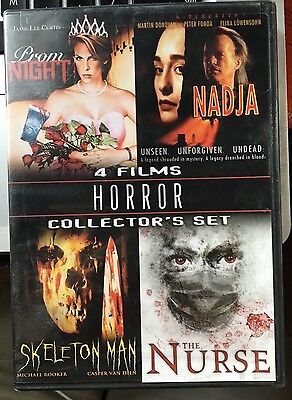 Horror Collector's Set, Vol. 1 (DVD, 2009, 2-Disc Set) SEALED: w/ Prom Night
