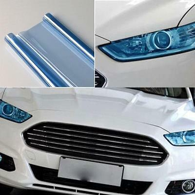 "Royal BLUE 12"" x 48"" Car Headlight Taillight Fog Wrap Cover Vinyl Film Tint Cool"