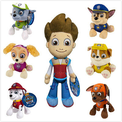 Brand New Paw Patrol Plush Soft Toy Cute Pups Dogs (20cm) Ryder (30cm)