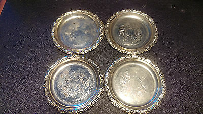 *SALE* Antique Silver Plated Victorian Coasters