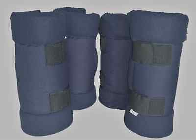 Horse Float Boots- Set of 4 - Navy color only