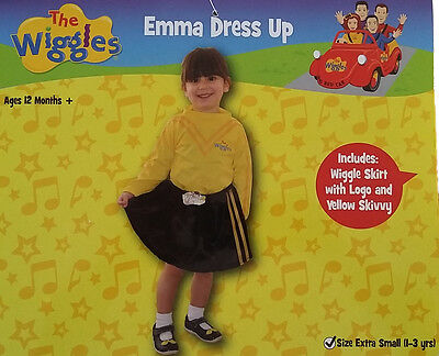 The Wiggles Emma Costume Dress Up Extra Small 1-3 years for Kids