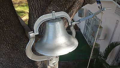 1870 Farm Bell - C.s. Bell - 148 Years Old -  Restored For Another 148 Years