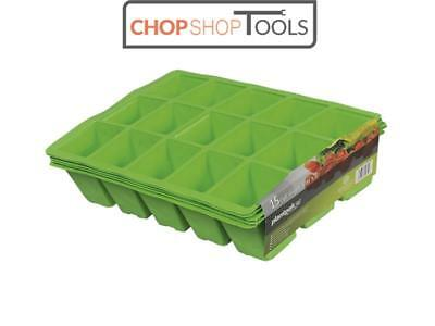 Plantpak PPK70200011 Seed Tray Inserts 15 Cell (22 x Packs of 5)