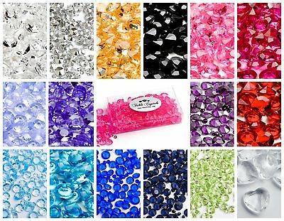 100g Table Crystal Diamond Scatter Confetti Wedding Decoration Mix 5mm 10mm 12mm