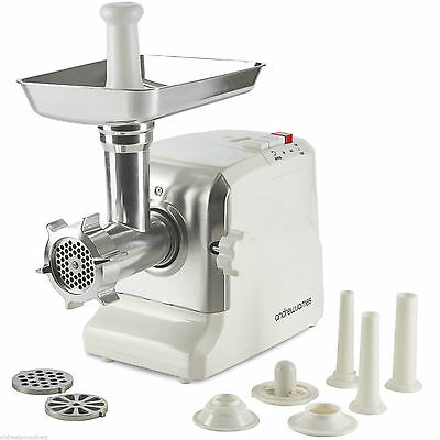 Electric Meat Mincer Grinder Food Mincing Machine & Sausage Maker Kitchen Tool